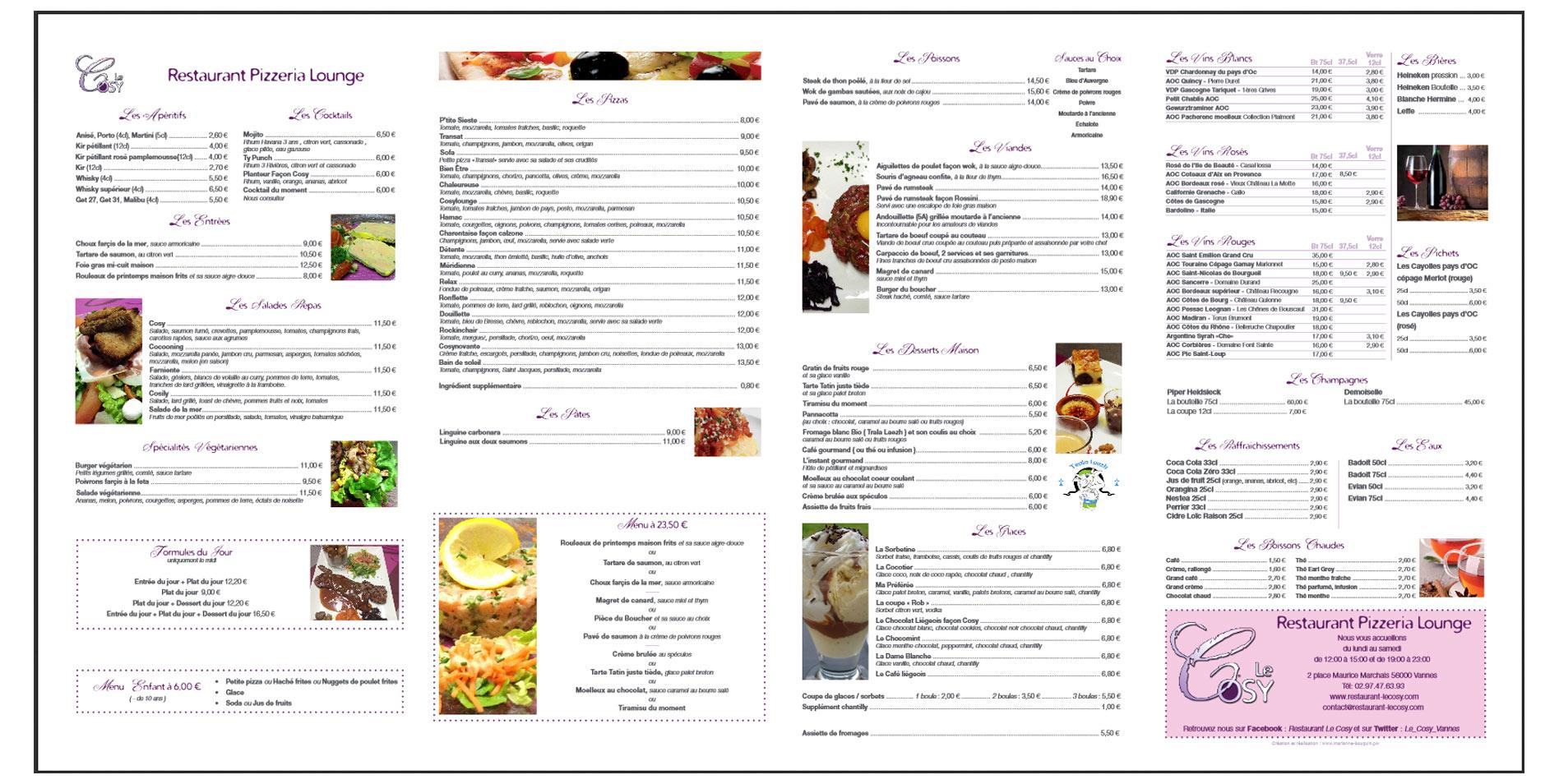 Marianne bouquin portfolio web design responsive for Panneau exterieur restaurant